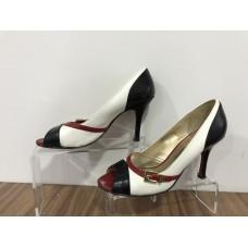 Beyaz Casual Deri 38 N Topuklu Ayakkabı