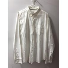 Beyaz Cepli Erkek Gömleği