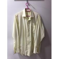 Açık Sarı Renginde Erkek Gömleği
