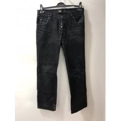 Siyah Erkek Kot Pantolon-2