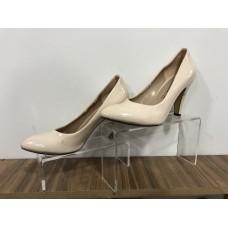 Krem Klasik Deri 37 N Topuklu Ayakkabı