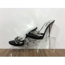 Siyah Klasik Deri 37 N Topuklu Ayakkabı