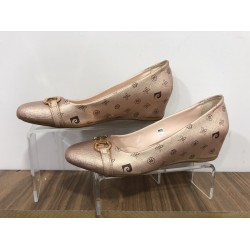 Altınımsı Casual Deri 39 N Kısa Topuk Ayakkabı